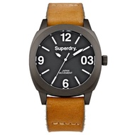 Superdry Thor Midi SYL116TT Analog Quartz Brown Leather Womens Watch
