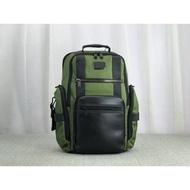 新款到貨  TUMI途米 232389D雙肩背包 绿色 公事包 電腦包 休閒商務