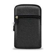 Aisure for HTC U19e/vivo Y17時尚雙層拉鍊腰包