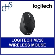 Logitech M720 Mulit-Device Wireless Mouse Triathlon  - SG Logitech Warranty