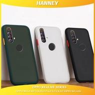 HENDREDสำหรับOPPO REALME 5 PROเคสโทรศัพท์,realme C11 5 5I 5S,realme C3,K3 A1K R15X REALME X XT C2,เคสกันกระแทกมือถือMatte CLEAR HYBRIDฝาหลังHPปลอกZSMS-01