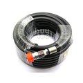 台灣工具-《專業級》雙層PVC高壓管/空壓管風管-四分*15M/全密紗夾層耐壓700PSI/附工業級公母快速接頭「含稅」
