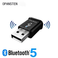 USB Bluetooth Receiver Transmitter 3.5mm Bluetooth5.0 AUX Stereo Music Car Wireless Audio Receiver A