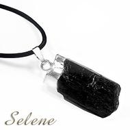 【Selene珠寶】神秘黑碧璽原礦墜鍊(又名電氣石)