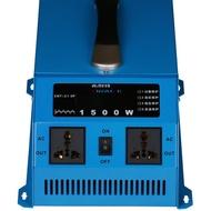 「免運」純正弦波逆變器12V轉110V/1500W車載太陽能家用電源轉換