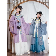 Hanfu Suit Women Chinese Traditional Clothing Girl Cosplay Dress Oriental Fairy Dancewear