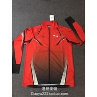 【日本釣具專營】特價清倉DAIWA達瓦PROVISOR DE-74008 防曬釣魚服速乾衣 黑色紅色
