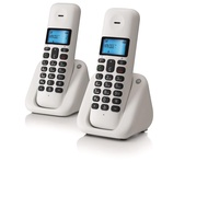 MOTOROLA T302 DIGITAL CORDLESS TWIN DECT PHONE
