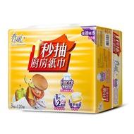 【春風】一秒抽取式廚房紙巾(120組*3包*8串)/箱