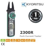 KYORITSU 2300R TRUE RMS Fork Current Tester (KEW2300R)