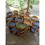 sp Tempat Bumbu Tempat Bawang Anyaman Bambu Murah grosir