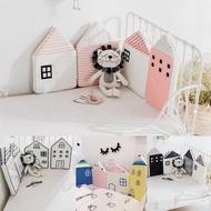 【Kori Deer 可莉鹿】北歐小房子加高型嬰兒床圍(兒童床邊護欄/床圍/安全護欄)