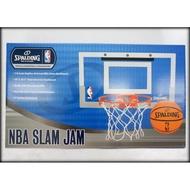 城市嚴選 SPALDING 斯伯丁 NBA室內籃球框 小籃框 籃框+彈簧鋼框+小籃球 禮物 SPB56099