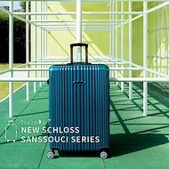 【NaSaDen 納莎登】新無憂髮絲紋防刮系列TSA海關鎖29吋拉鍊行李箱(吉森湖綠)