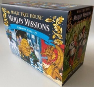 Magic tree house 2 Merlin Mission box set 25books +2 books,totall 27 books English chapter book!