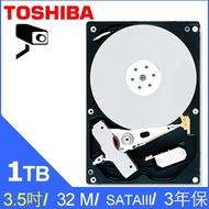 【MR3C】含稅附發票 TOSHIBA 1TB 1T DT01ABA100V 監控專用硬碟