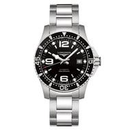 LONGINES浪琴錶 L37424566 HydroConquest 深海征服者浪鬼機械腕錶/黑面41mm