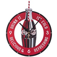 HOLA 可口可樂系列 靜音壁鐘 Coca-Cola