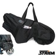 【STRiDA】輕便型攜車袋-黑(三角形單車)