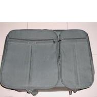 二手 出清 Samsonite 深綠色 25吋 橫式 4輪 行李箱