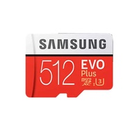 【SAMSUNG 三星】512GB EVO Plus U3 R100/W90mb microSDXC記憶卡(附轉卡)