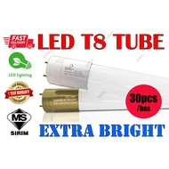LED T8 TUBE 20W/30W 4FT Daylight-6500K(30PCS)[SIRIM APPROVED]