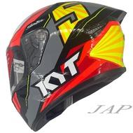 KYT  TTC TT-COURSE #5 選手彩繪 全罩式 安全帽