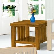 【凱迪家具】F16-14-6 198#型樟木色小茶几(面半實木) /大雙北市區滿五千元免運費