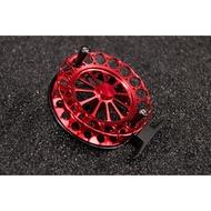 【獵漁人釣具】90黑紅精工全金屬前打輪 外銷款 釣魚 捲線器
