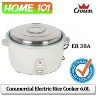CROWN Commercial Rice Cooker 6.0L ER 30A