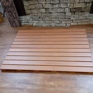 防水防滑浴室踏板(90x65x2.4cm)/浴室地板/陽台地板/ 戶外地板/防滑踏