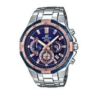 Casio Edifice รุ่น EFR-554D-2AV สินค้าขายดี นาฬิกาข้อมือผู้ชาย สายสแตนเลส (สินค้าใหม่ล่าสุด)