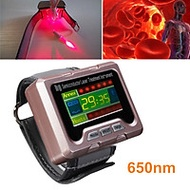 650nm Wrist Diode Laser Therapy Watch Apparatus for Diabetes Blood Pressure