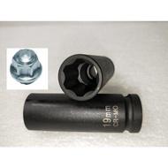 銂祐多元CYD-氣動 長套筒 4分 6PT 19 mm FORD 輪胎專用套筒/ 福特 特殊套筒