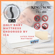 King Koil OrthoGuard 3 Latex Foam 4 inch Aloe Vera or Anti Mosquito Mattress