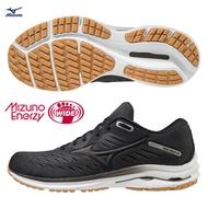 【滿額最高折$430】MIZUNO WAVE RIDER 24 SW 男鞋 慢跑 超寬楦 一般 避震 柔軟 黑【運動世界】J1GC200409