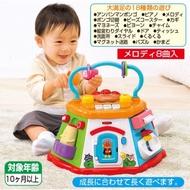 [破盤價 預購]麵包超人 七面 六面 多面玩具 遊戲盒 遊戲屋 遊戲機 18種 嬰兒 聲光感官 音樂 形狀益智 屋型
