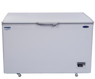 Fujidenzo 15 cu. ft. Solid Top Chest Freezer Key Lock Inverter Technology - up to 30% Energy Savings p to 30% Energy Savings