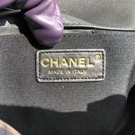 [การันตี งานเปะมาก] Chanel Boy 10 Caviar GHW Original Grade Full Set Option หนังแท้ 100%