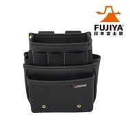 【Fujiya 富士箭】防潑水腰間工具收納袋-三層型(工具收納袋)