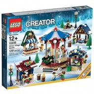 『盒損』[想樂]全新 樂高 Lego 10235 冬季市場 Winter Village