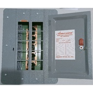 Electrical Panel Board 10 holes / 8 branches Main Breaker housing America brand