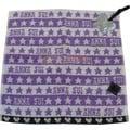 貳拾肆東京潮流--日本帶回ANNA SUI 經典紫色小毛巾方巾/日製