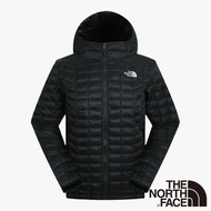 【The North Face】ThermoBall暖魔球保暖連帽外套S黑色