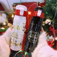 現貨 韓版ins風麋鹿聖誕保溫杯 304不鏽鋼保溫杯保溫壺 學生 情侶便攜隨身杯 大容量運動水杯 創意聖誕禮物 交換禮物