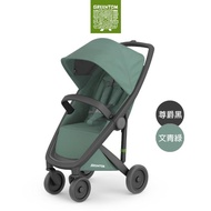 【荷蘭Greentom】Classic經典款-經典嬰兒推車(尊爵黑+文青綠)