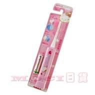 日本製 minimum Hello Kitty 凱蒂貓 電動牙刷 超極細刷毛 7000次震動 替換刷頭 阿卡將 牙刷