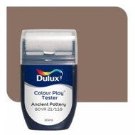 Dulux Colour Play Tester Ancient Pottery 80YR 21/118