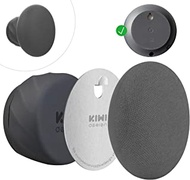 KIWI design Wall Mount Holder for Google Nest Mini(2nd Gen), Space Saving Outlet Mount Superb Cord Management for Nest Mini by Google