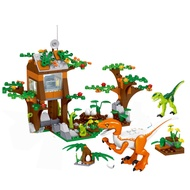 Lego Figures building blocks Dinosaur Eggs Base war Jurassic Park Dinosaurs Bricks Toys For Children